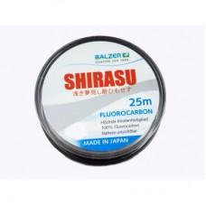 Леска Balzer Shirasu Fluorocarbon 0.25мм. 25м.
