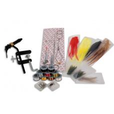 Набор инструментов Lineaeffe для вязания мушек 12 наимен.